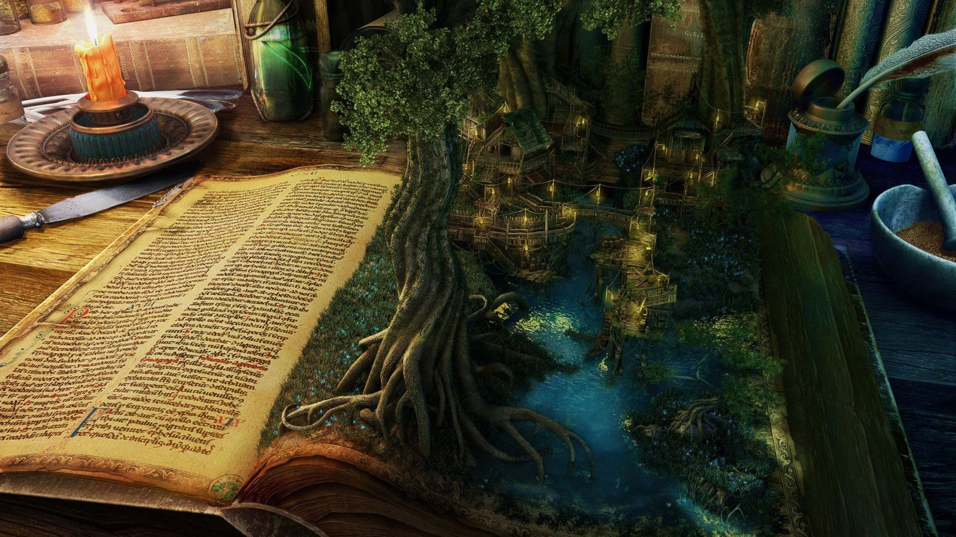 fantasy_book_wallpaper