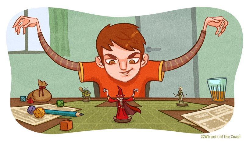 820x466_4523_d_d_player_s_strategy_guide_getting_into_character_2d_fantasy_illustration_boy_role_playing_dungeons_and_dragons_miniature_dice_picture_ima
