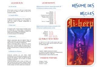 Règles résumés de Ji Herp